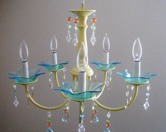 Custom Vintage Ice Cream Parlor Chandelier MADE TO ORDER