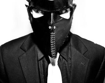 Death Squad 4 Leather Mask