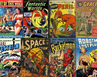 DVD Golden Age Comics FANTASY SPACE Action Sci Fi (vol 1) - Out Of This World Aliens