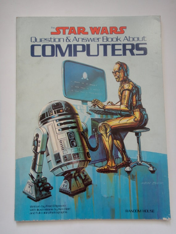 Star Wars Question & Answer Book About Computers from Random House