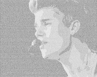 Justin Bieber Lyrical Poster