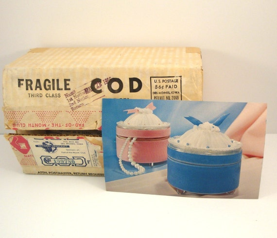 Vanity fair jar 1960s fad of the month club by for Craft of the month club