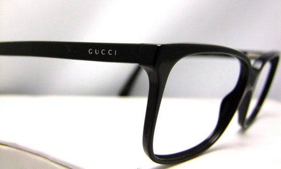 Vintage Gucci Glasses Frame : Vintage Gucci Eyeglasses Made in Italy Style 1643 807