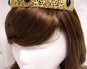 SALE Irish Princess Brass Filigree Tiara Crown Tudor Renaissance Medieval Game of Thrones