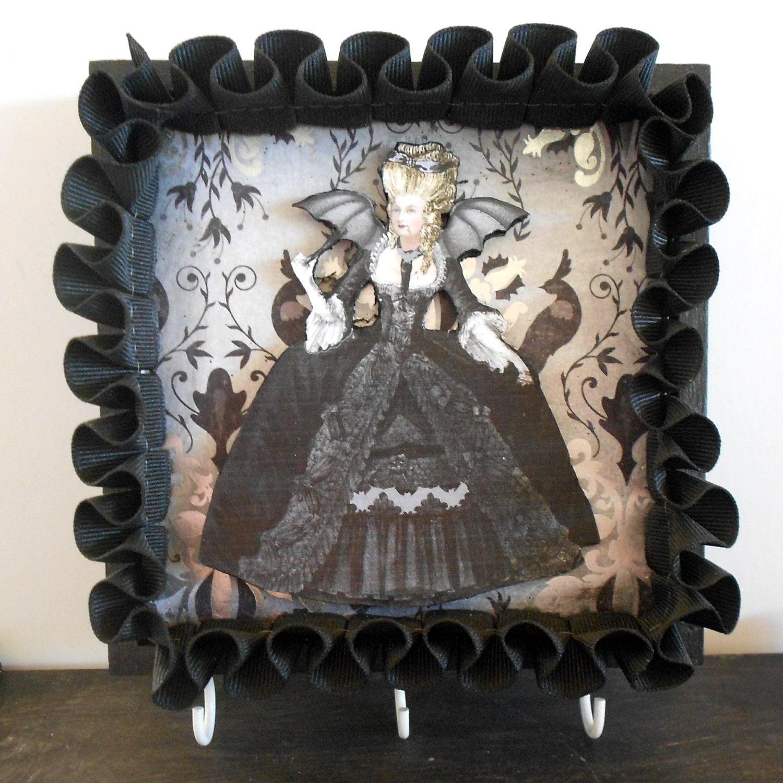 Gothic Home Decor Key Rack Gothic Marie Antoinette