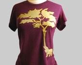 Elephant Tree T Shirt American Apparel