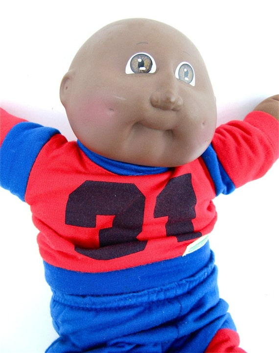 African Boy Names: Items Similar To African American Bald Boy Cabbage Patch