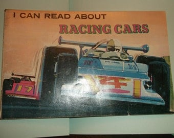 I Can Read About RACING CARS