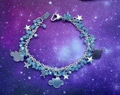 Pacific Opal Cloud and Star crystal bracelet