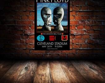 Pink Floyd 1994 Cleveland Concert Poster