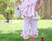 PDF Girls Dress Pattern - Miss Matilda Dress and Top, Size 6 Month - 10 Years