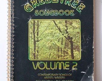 1979 NASHVILLE GOSPEL SONGBOOK Vintage Music Book / Church Choir / Gospel / Piano / Green Tree Songbook Volume 2 Nashville