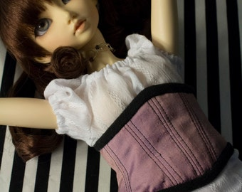 SD BJD Dollfie Corset dusty rose pink