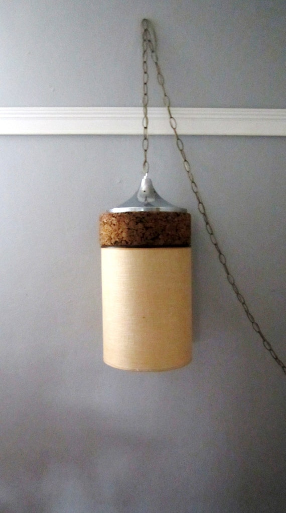 Mid Century Modern Swag Light By Lmlois On Etsy