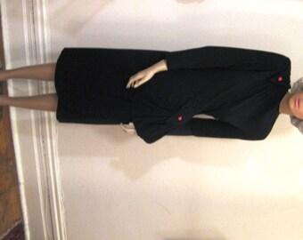 SALE 20% OFF  40s Film Noir Dress by Plaza Dress