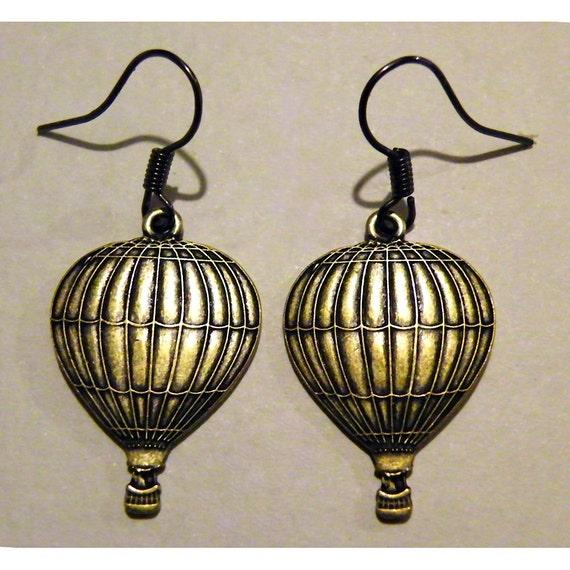 items similar to steampunk pocket watch hot air balloon