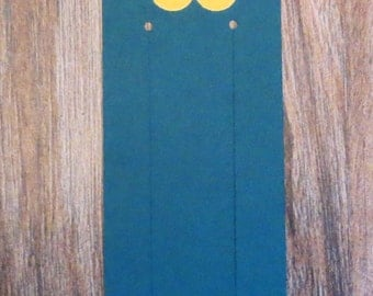 Flower Bookmarks with Butterflies - Set of 10