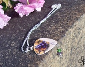 Olive Garden Pick Necklace (with grapes)