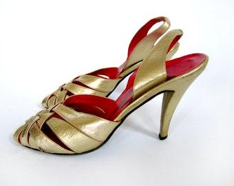 60s Oscar Dela Renta shoes in a size 7.5