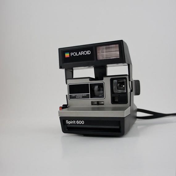 polaroid spirit 600 lms land camera 600 film. Black Bedroom Furniture Sets. Home Design Ideas
