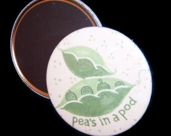 "Large Magnet Peas in a Pod 3"" Refrigerator Magnet"