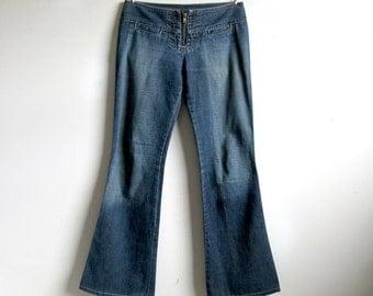 Guess USA Vintage 1990s Low Rise 4 Pocket Denim Jeans 27