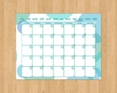 Monthly Calendar, printable