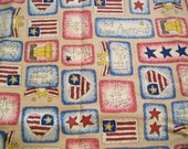 Patriotic Fabric Destash - Patriotic Patch