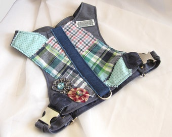 Small Dog Harness Vest - Calvin