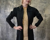 Edwardian Black Silk Jacket