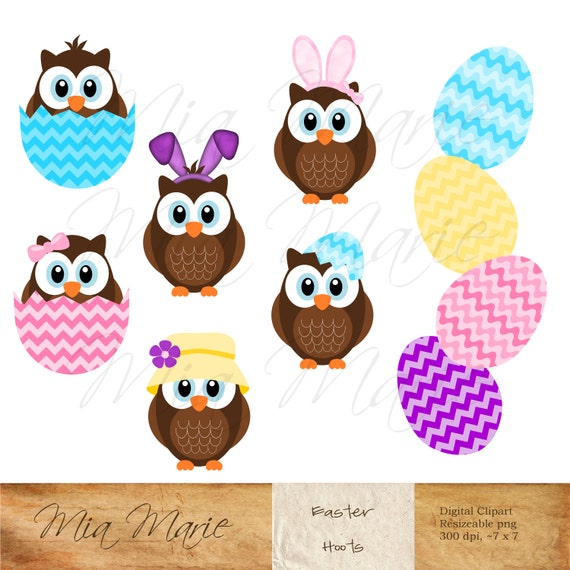 free easter owl clip art - photo #11