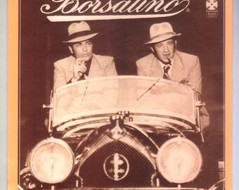 Borsalino Movie Soundtrack Starring Jean-Paul Belmondo Alain Delon Music by Claude Bolling Vintage Vinyl Record Album Paramount LP