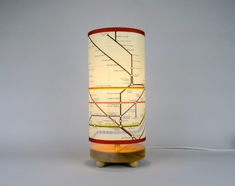 London Underground Map Lamp