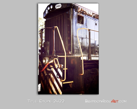 Train Decor Railroad Art Industrial Wall Decor By