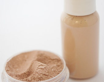 Medium - Mineral Makeup Powder - All Natural MIneral Makeup