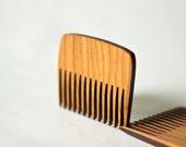 Wood Pocket Comb - Natural