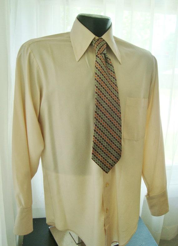 Cream Colored Dress Shirt