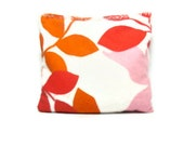 Hot/cold pack heat/ice pack small size love leaves print