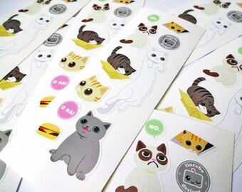 Internet Cats • Sticker Sheet