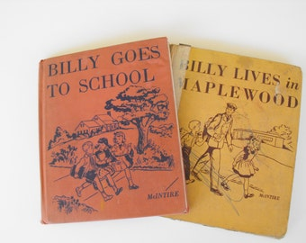 Billy Goes to School and Billy Lives in Maplewood Primary School Books