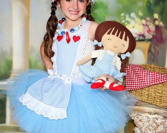 Dorothy inspired dress and costume from the Wizard of Oz size 5 for biljana