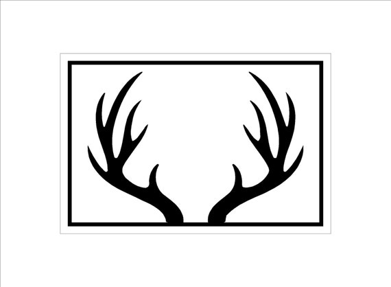 Il Xn Vh additionally Upside Down Antlers Md additionally Bc C F B E C F Df Deer Silhouette Printable Printable Deer Antlers moreover Deer Clipart Doe besides Irjqlria. on deer antler silhouette clip art