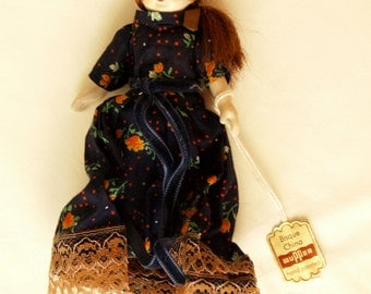 Wupper jointed china doll. German. 5 inch.