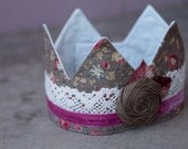 Fabric Crown - Princess Elizabeth