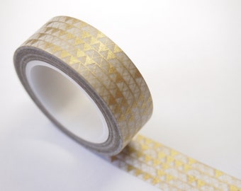 Washi Tape (10M) - Golden Triangle