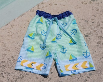 50% OFF Boys Swim Suit pdf sewing pattern, swimsuit pattern, PDF pattern, boys swim suit