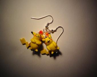 Pokemon - Pikachu dangle Earrings