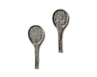 Tennis Cufflinks - Gifts for Men - Anniversary Gift - Handmade - Gift Box Included