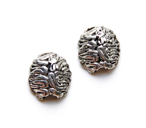 Brain Cufflinks - Gifts for Men - Anniversary Gift - Handmade - Gift Box Included