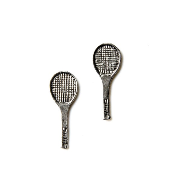 Tennis Cufflinks Gifts for Men Anniversary Gift Handmade